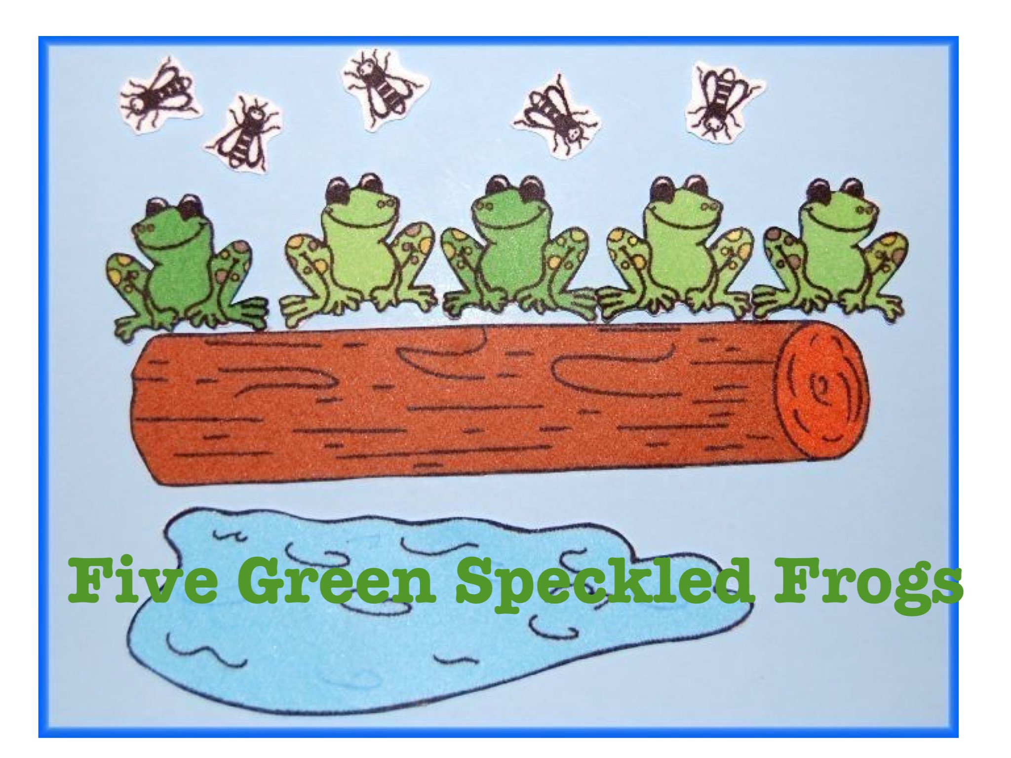 Play Five Green Speckled Frogs By Kristin Meadows