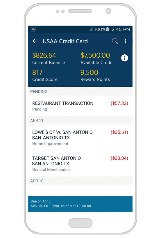 usaa secured american express - 2