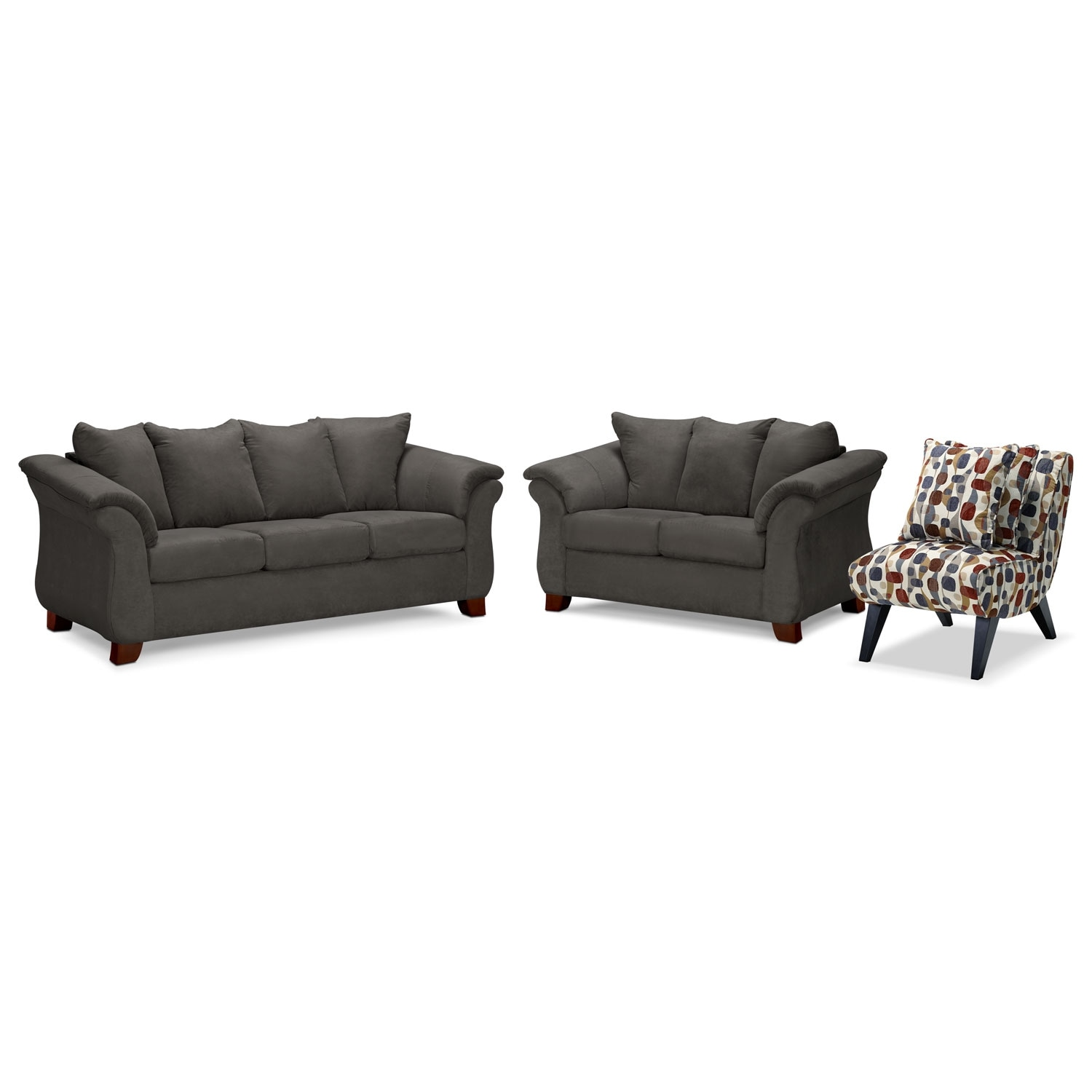Sofa And Accent Chair Set