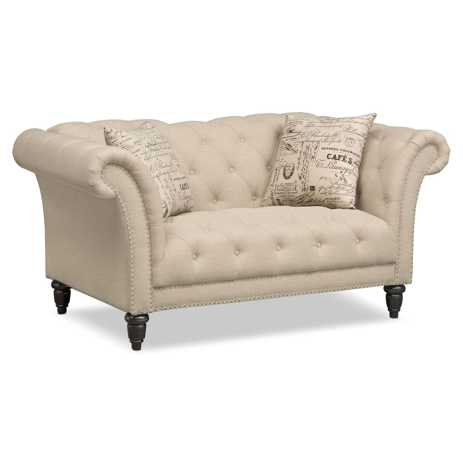 Marisol Sofa and Loveseat   Beige   Value City Furniture and Mattresses Marisol Sofa and Loveseat   Beige