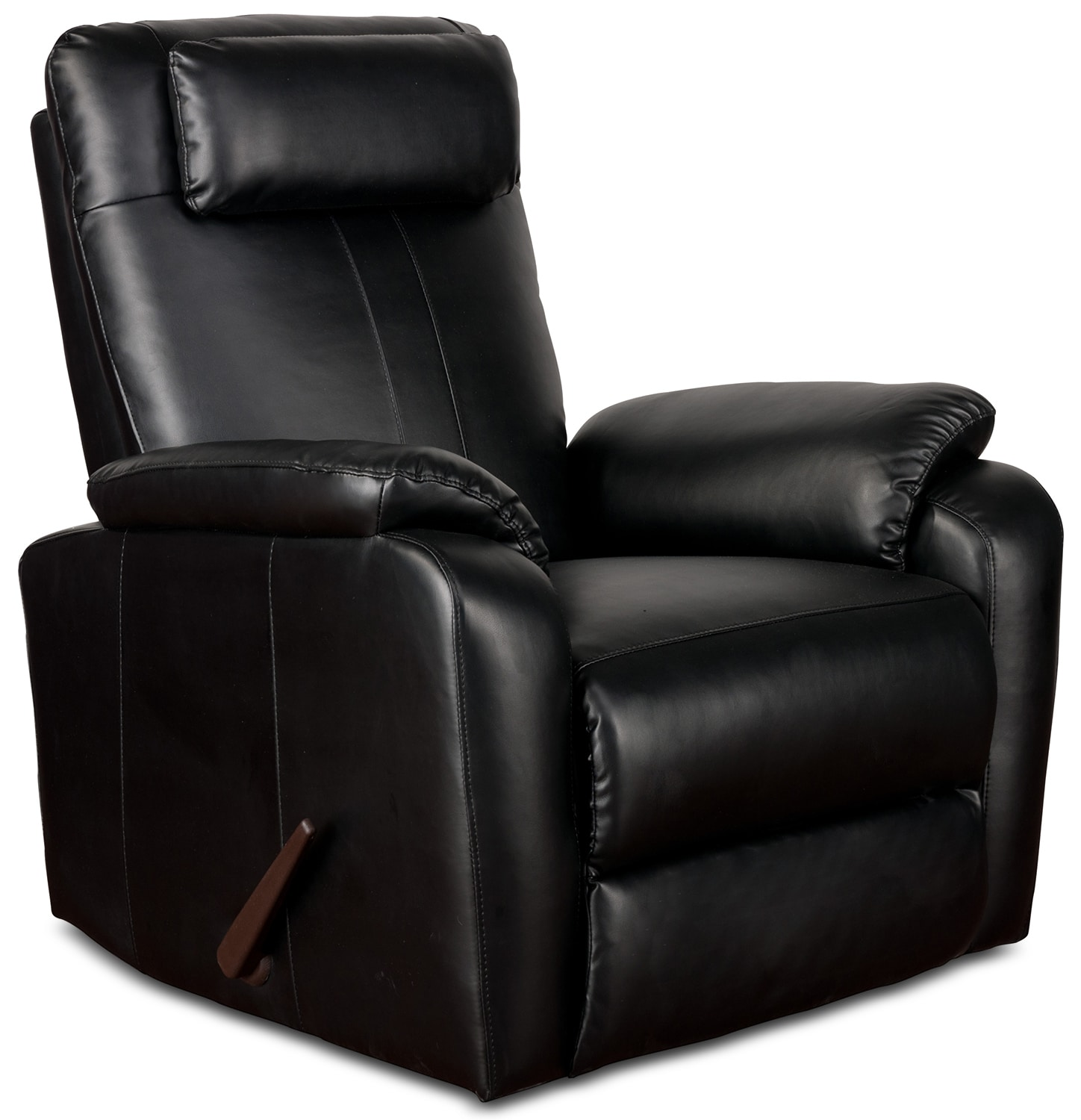 Sparta Rocker Recliner - Black | Value City Furniture on Sparta Outdoor Living id=41308