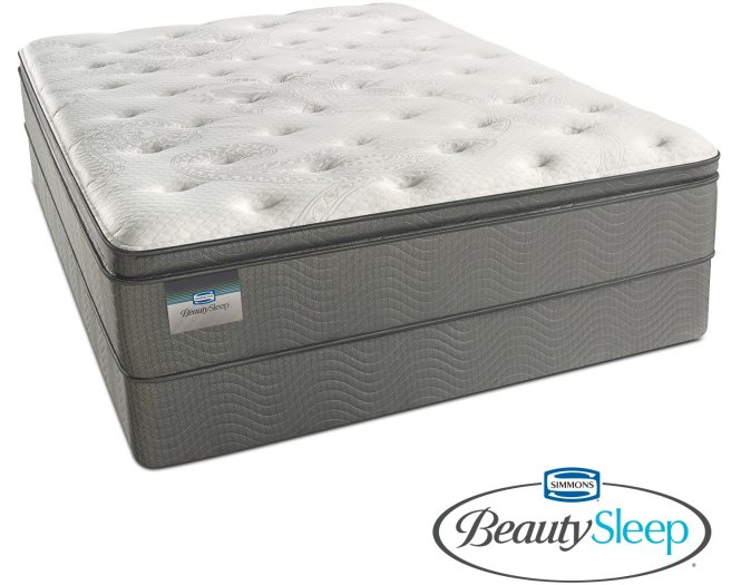 Pillowtop Queen Mattress And Foundation Set Hover To Zoom