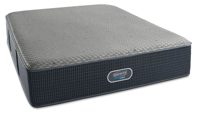 Belle Island Ultra Plush Queen Mattress And Foundation Set By Beautyrest Silver Hybrid
