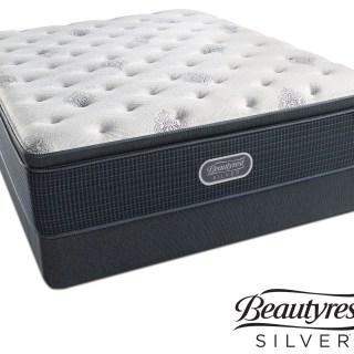 White River Plush Pillowtop Full Mattress And Foundation Set