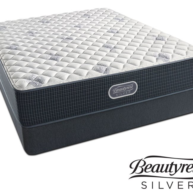 Mattresses And Bedding White River Extra Firm Queen Mattress Foundation Set
