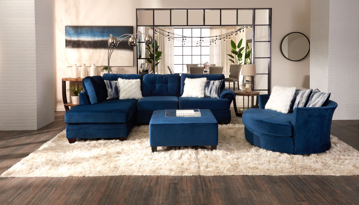 You will find all your customer care faq's here: Cordelle 2-Piece Sectional with Chaise | Value City Furniture
