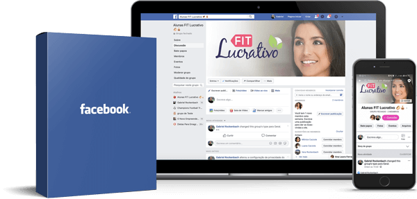 Grupo do Facebook Fit Lucrativo - Ana Laura Ferraz - Marmita Fitness