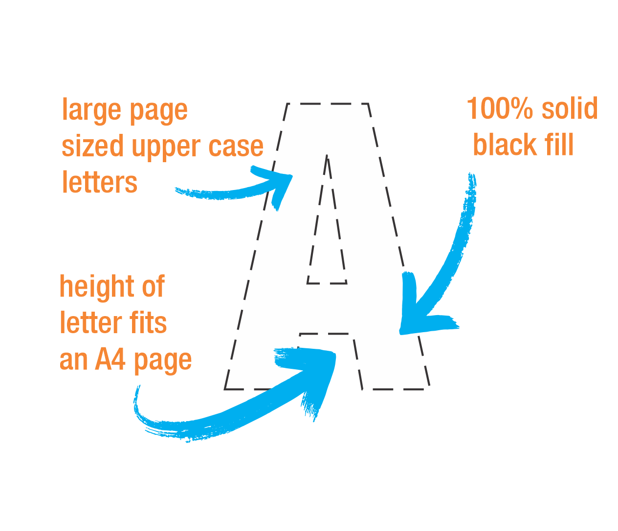 The Best Large Solid Printable Numbers