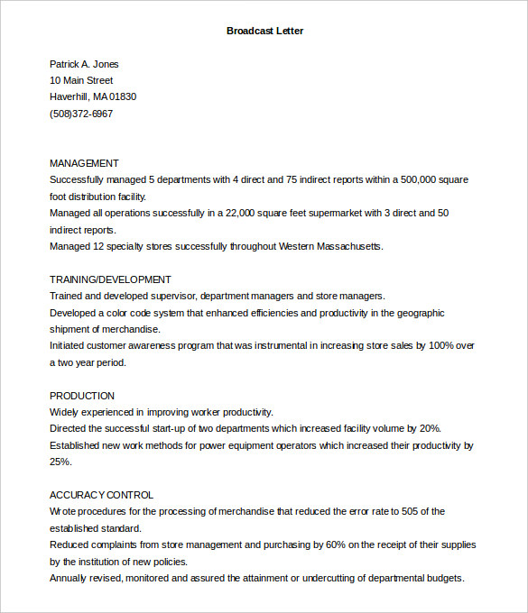 15 Best Sample Cover Letter For Experienced People Wisestep