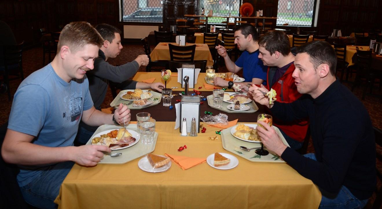 Team lunch or dinner