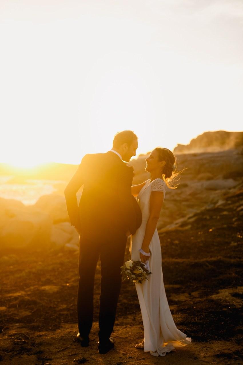 Mariage À Lumio au Rocher Portrait