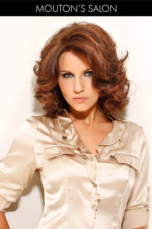 Medium Brown Hair Light Brown Highlights