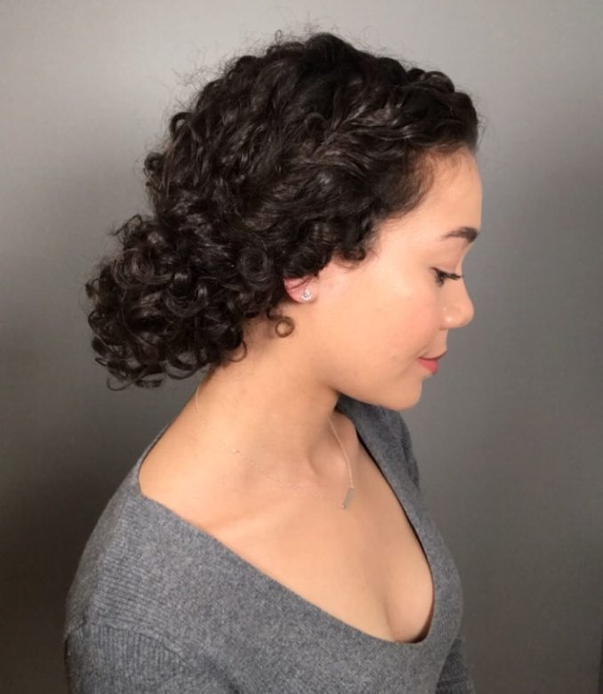 18 stunning curly prom hairstyles for 2019 - updos, down