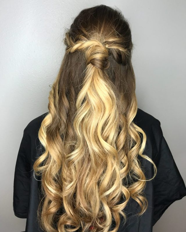 31 prom hairstyles for long hair that are gorgeous in 2019