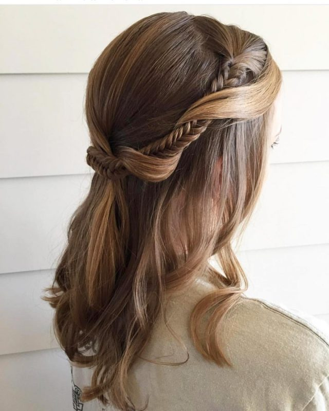 20 Super Easy  Updos  Anyone Can Do Trending in 2019