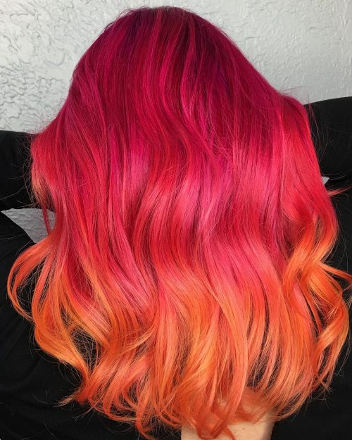 20 Stunning Orange Hair Color Examples In 2019