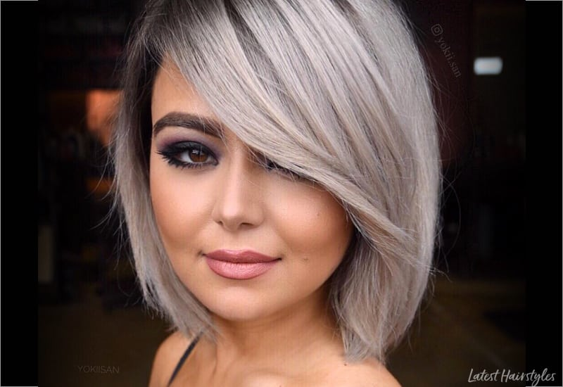 17 Hottest Short Bob With Bangs Youll See In 2019
