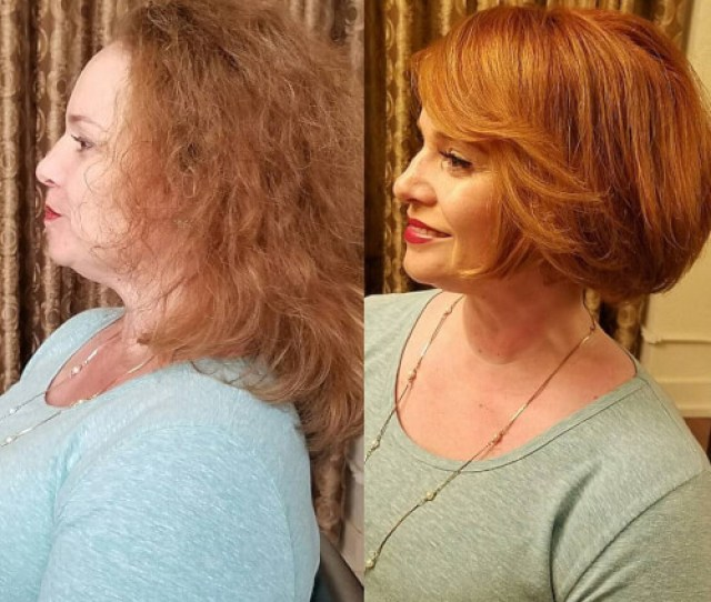 Short Hairstyle Woman Over  Side Allison Nahoopii