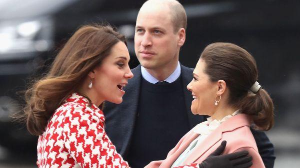 Treffen der SuperRoyals Kate Prinzessin Victoria BFFs