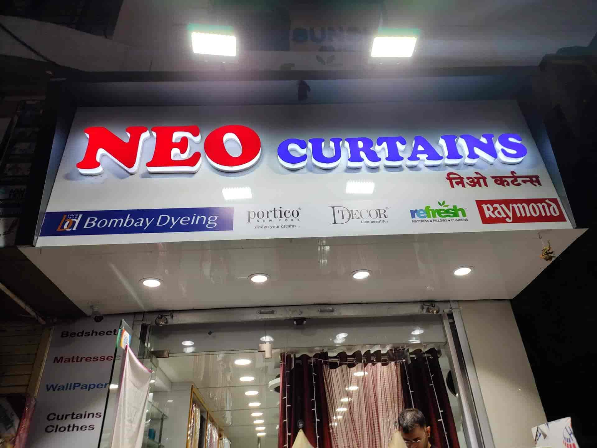 neo curtains viman nagar mattress