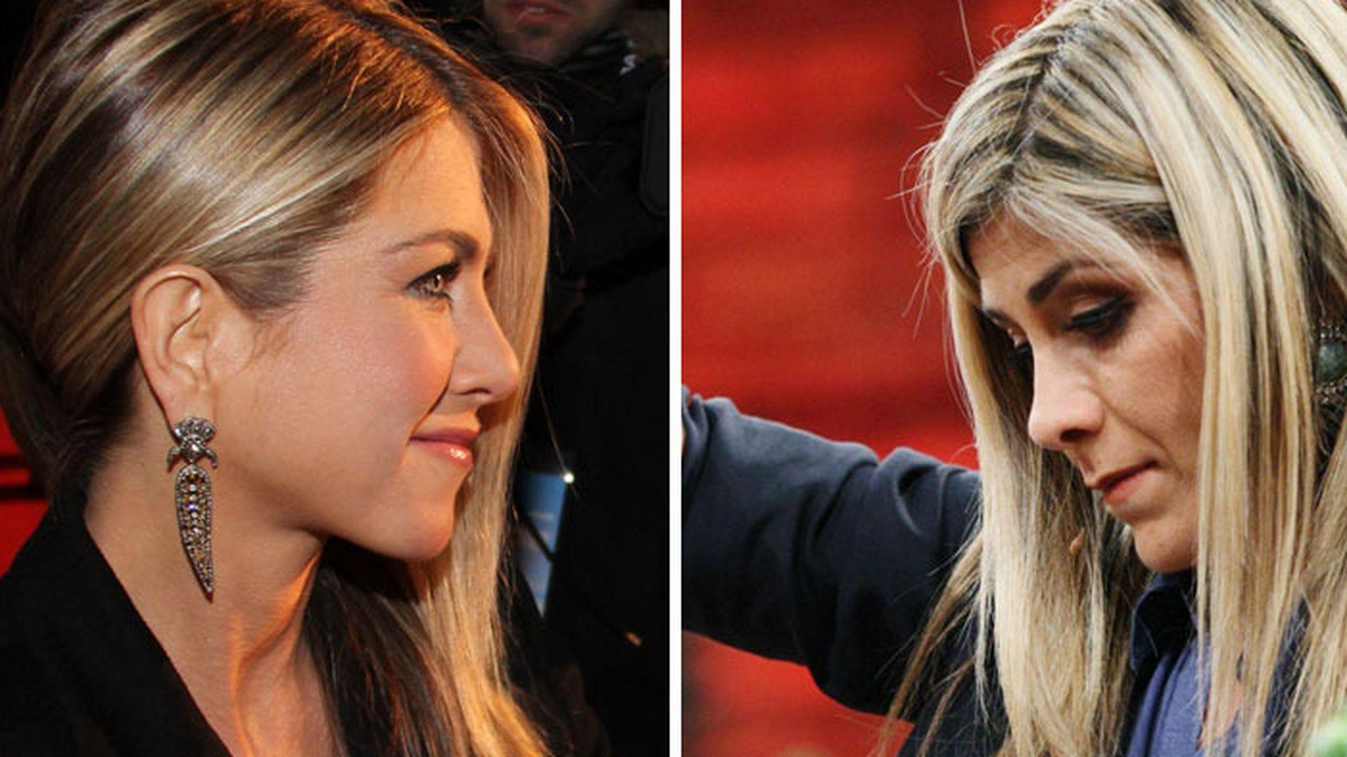 Wahnsinn Die Frau Sieht Aus Wie Jennifer Aniston
