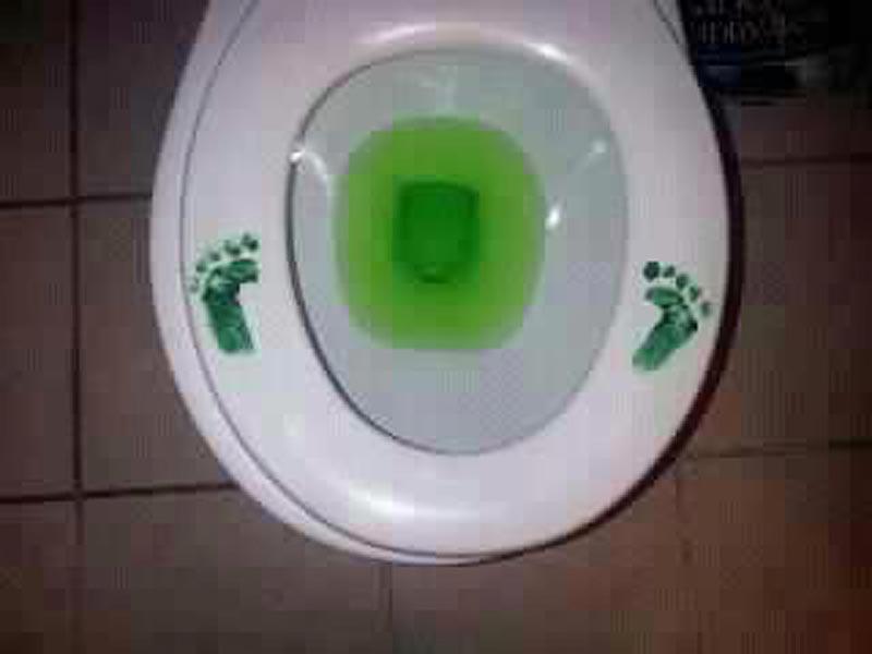 Tavā tualetē viesojies mazais Griņčs..