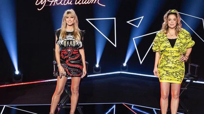 "Heidi Klum and Marina Hoermanseder ""Germany's next Topmodel"""