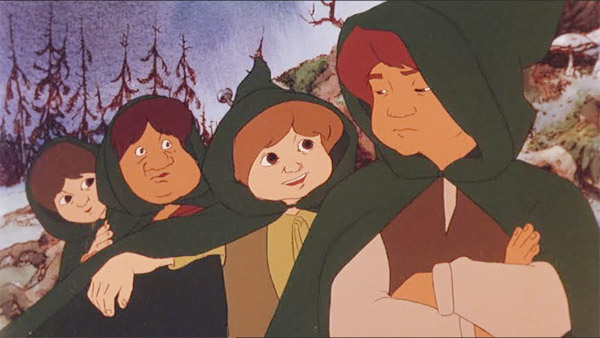Watching Series: The Animated Lord of the Rings Trilogy << Rotten Tomatoes  – Movie and TV News