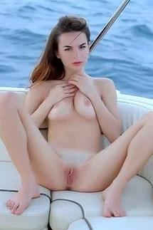 Naked Brunette Beauty
