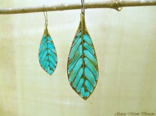 #2 Feather earrings