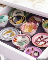 Jewelry in bowls