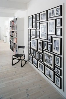 black white pictures wall art