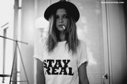 stay real print