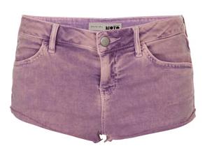 Topshop shorts purple