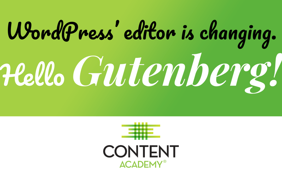 Hello Gutenberg, a introduction to WordPress redesigned editor with samples