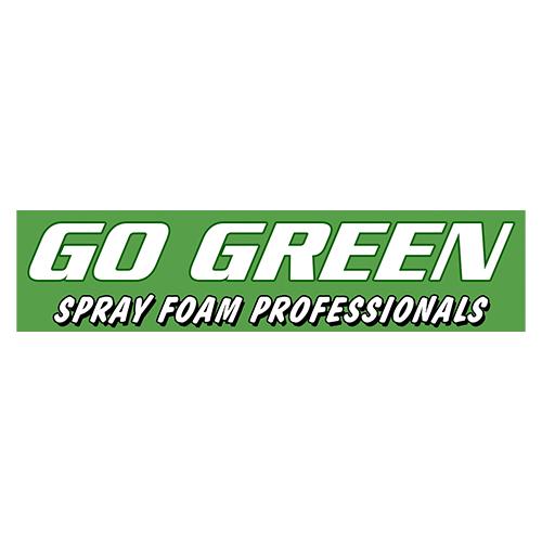 go green spray foam professionals logo