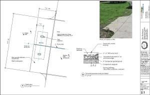 Charlestown Training Field landscaping detail