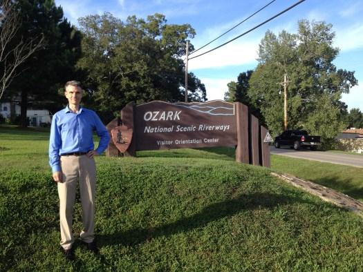 Ozark National Scenic Riverways Visitor Orientation Center