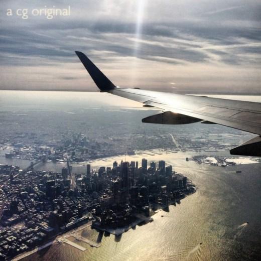 """Lower Manhattan taken while at """"work."""""""