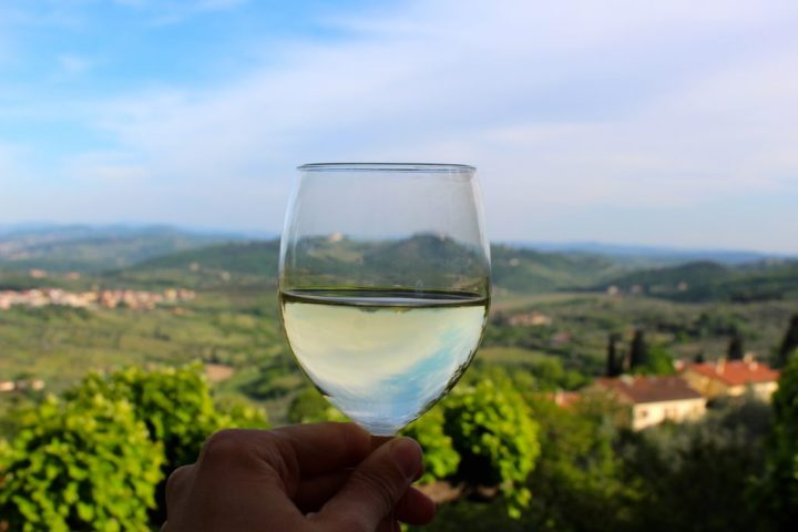 Wine in Carmignano, Tuscany