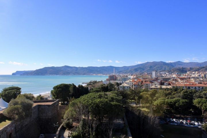 View from the fortress in Savona