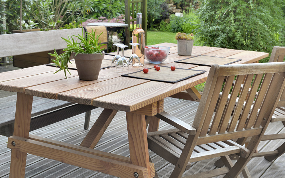 DIY Patio Furniture - The Home Depot on Home Depot Patio Ideas id=80217