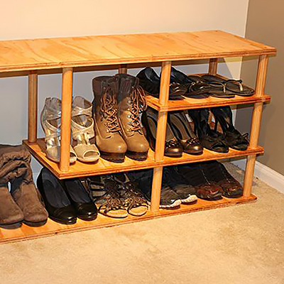shoe storage storage organization