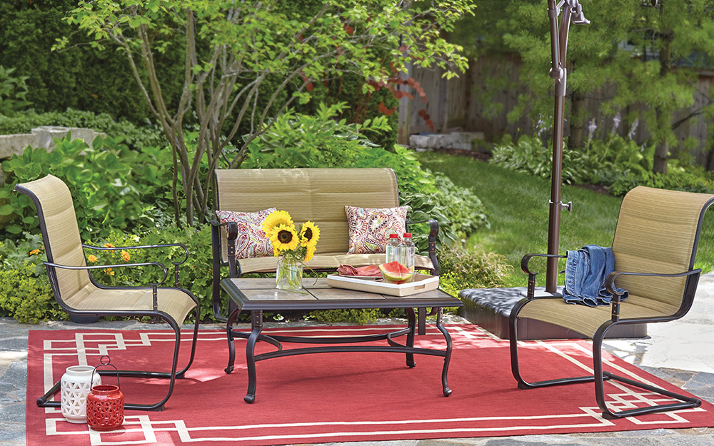 Backyard Ideas on a Budget - The Home Depot on Backyard Patio Designs On A Budget id=76472