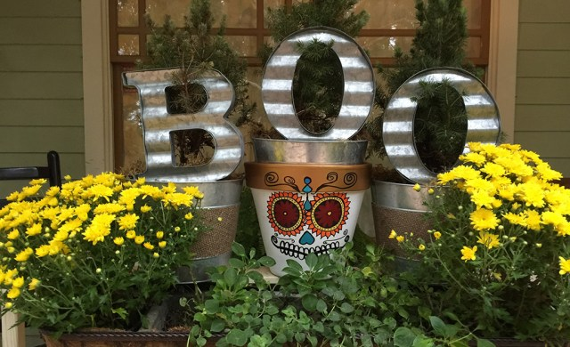 Harvest Decor Ideas For Your Balcony The Home Depot