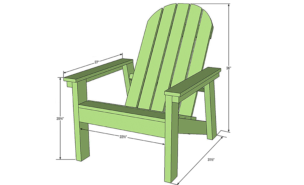 How To Build An Adirondack Chair The Home Depot