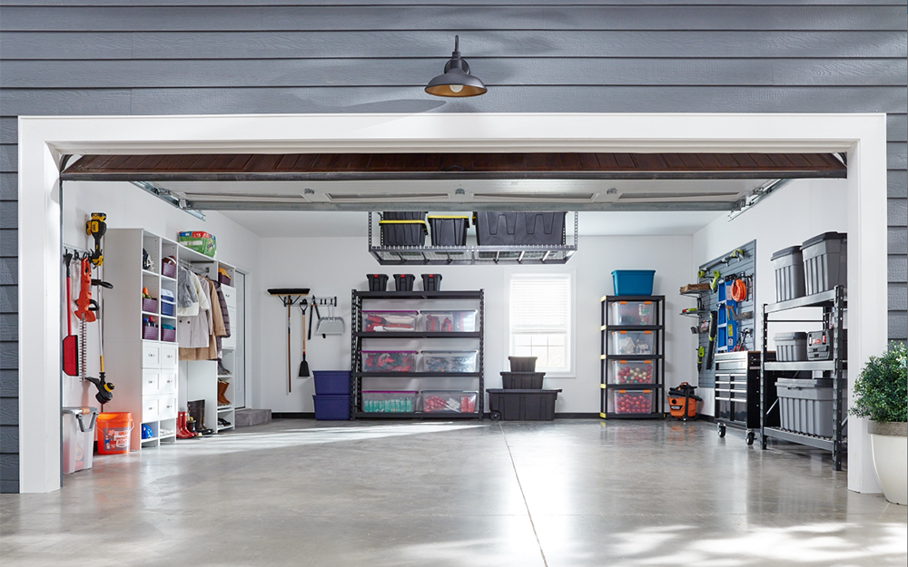 Garage Storage and Organization Solutions - The Home Depot on Organized Garage  id=49573