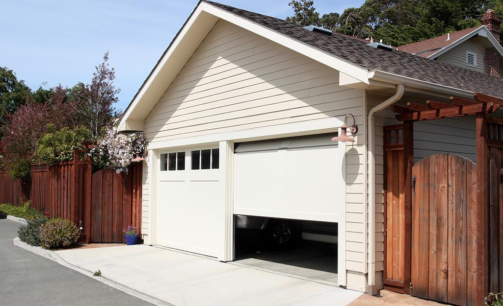 How To Install A Garage Door Opener The Home Depot