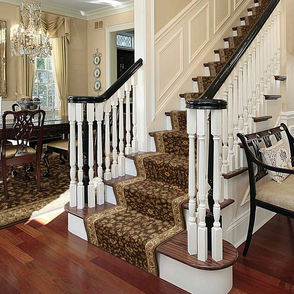 How To Install A Stair Runner The Home Depot | Home Depot Wood Stair Steps | Carpet | Deck Stairs | Stair Parts | Deck | Oak Stair Nosing