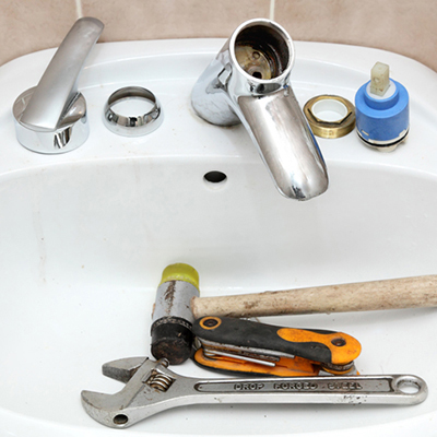 how to replace cartridge sink faucets